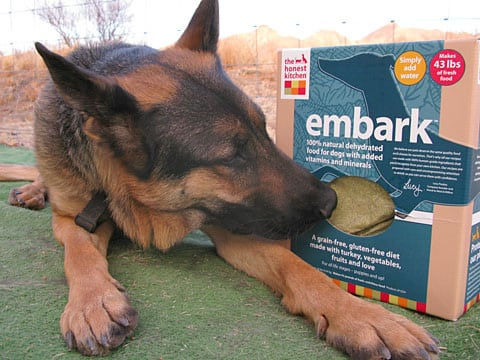 Wyatt Recommends Honest Kitchen Embark Dehydrated Dog Food