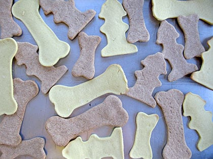 Healthy Homemade Dog Treat Cookies