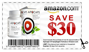Apocaps Coupon Included in Dog Cancer Kit