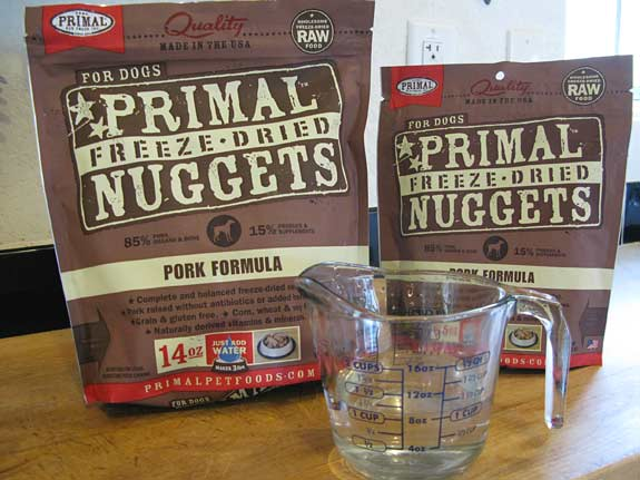 Primal Freeze Dried Nuggets Dog Food