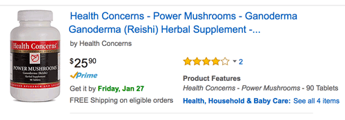 power mushrooms