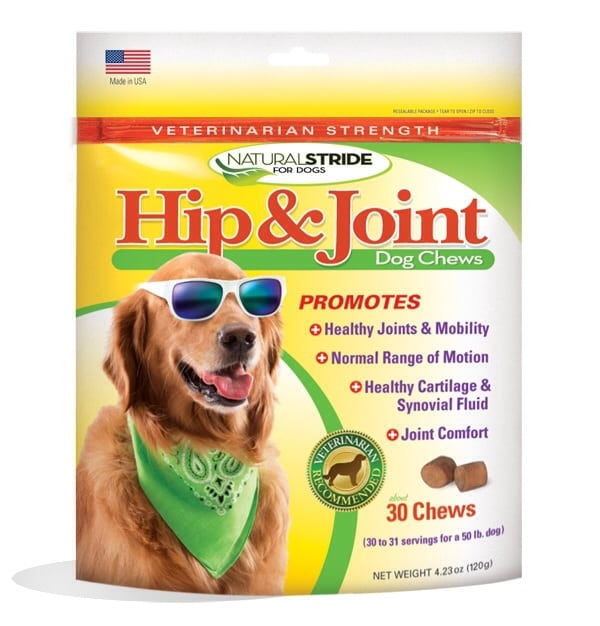 Natural Stride Liver Flavor Hip and Joint Supplement