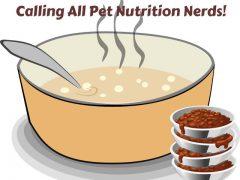 Pet Nutrition Spreadsheet