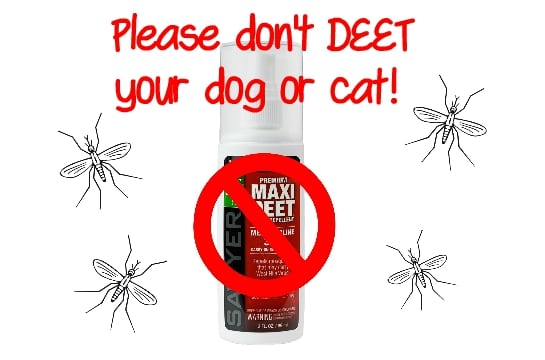 natural mosquito repellents for pets