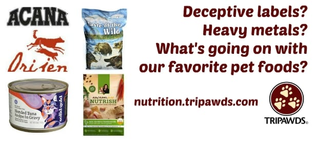 Deceptive Pet Food Labels