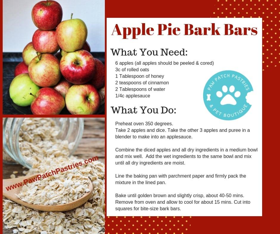 Apple Pie Dog Treats Recipe