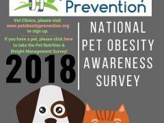 2018 Pet Obesity Survey