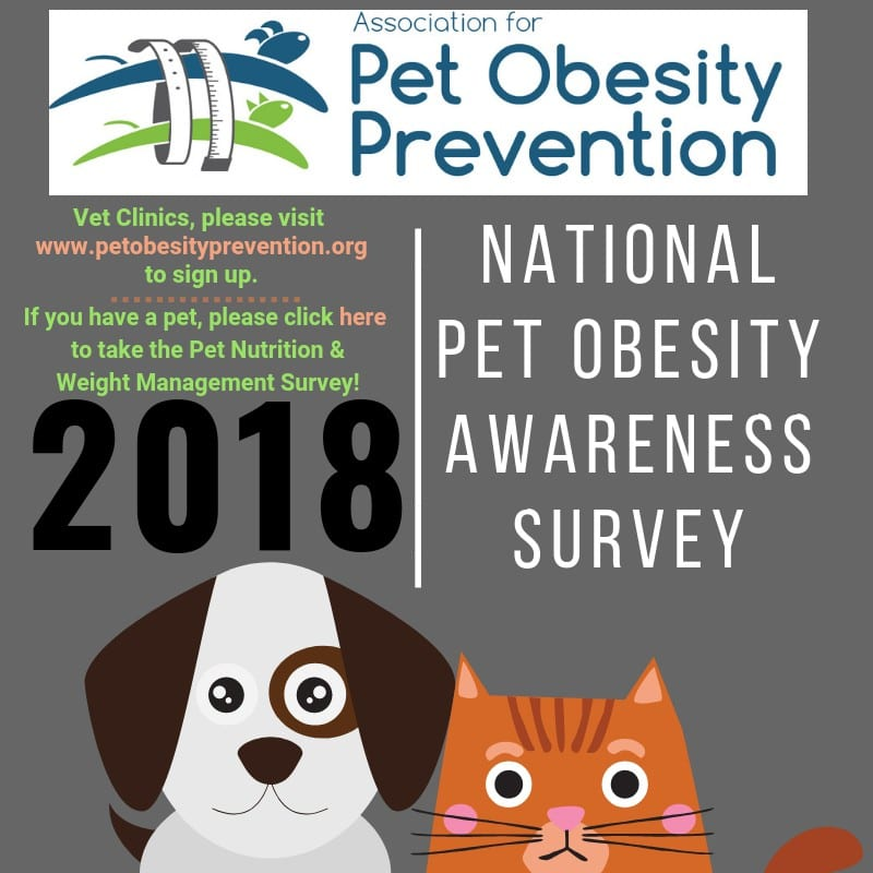 2018 Pet Obesity Survey