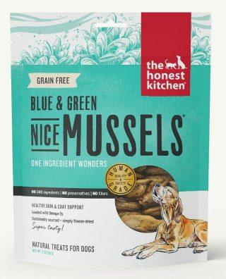 tripawd green lipped mussels