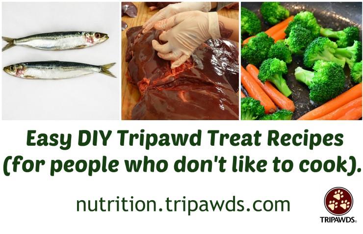 DIY Tripawd Treat Recipes
