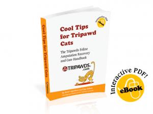 Tripawds Cat guide book