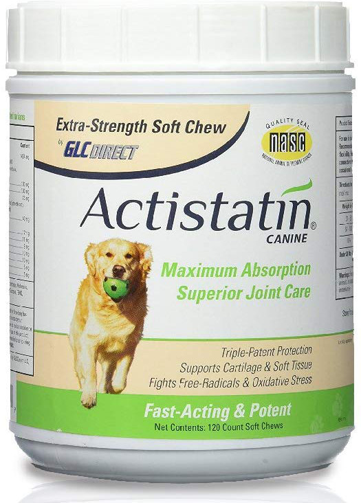 Actistatin joint support for dogs