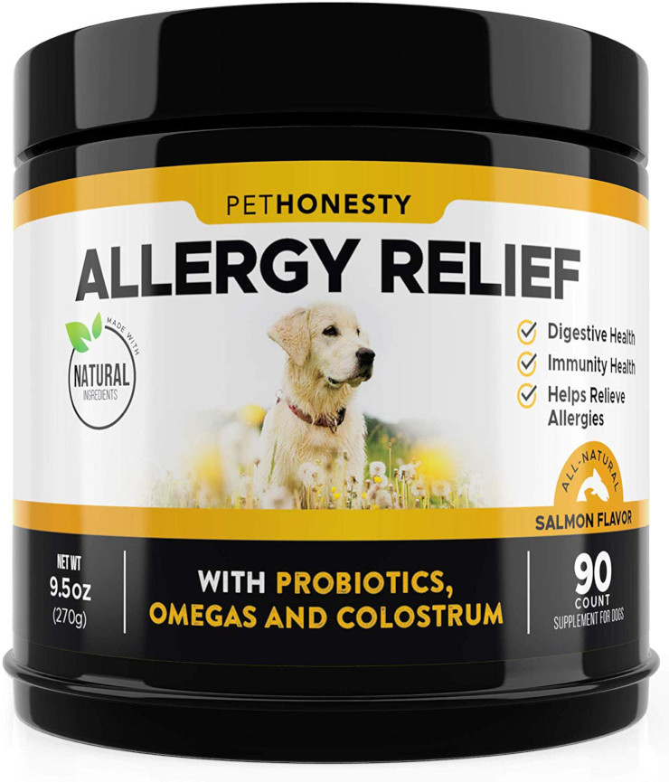 Skin Allergy Relief for Dogs