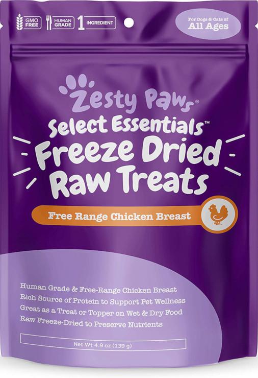 human grade freeze dried raw pet food