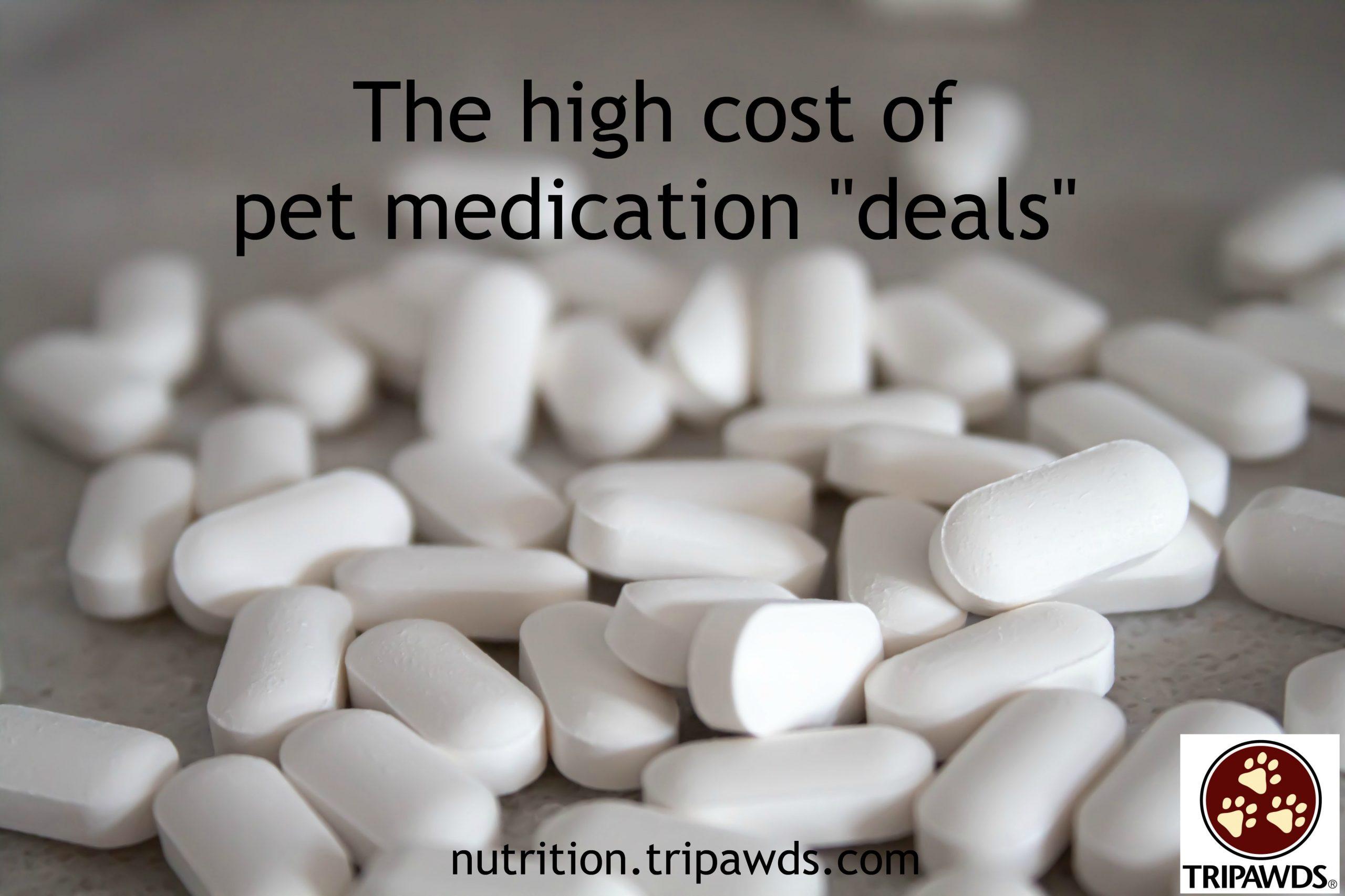 fake pet medication deals