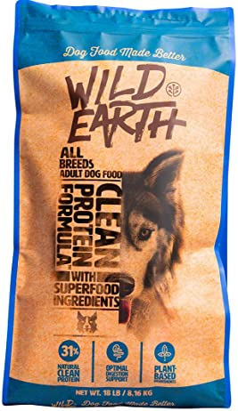 Wild Earth meat-free plant-based dog food