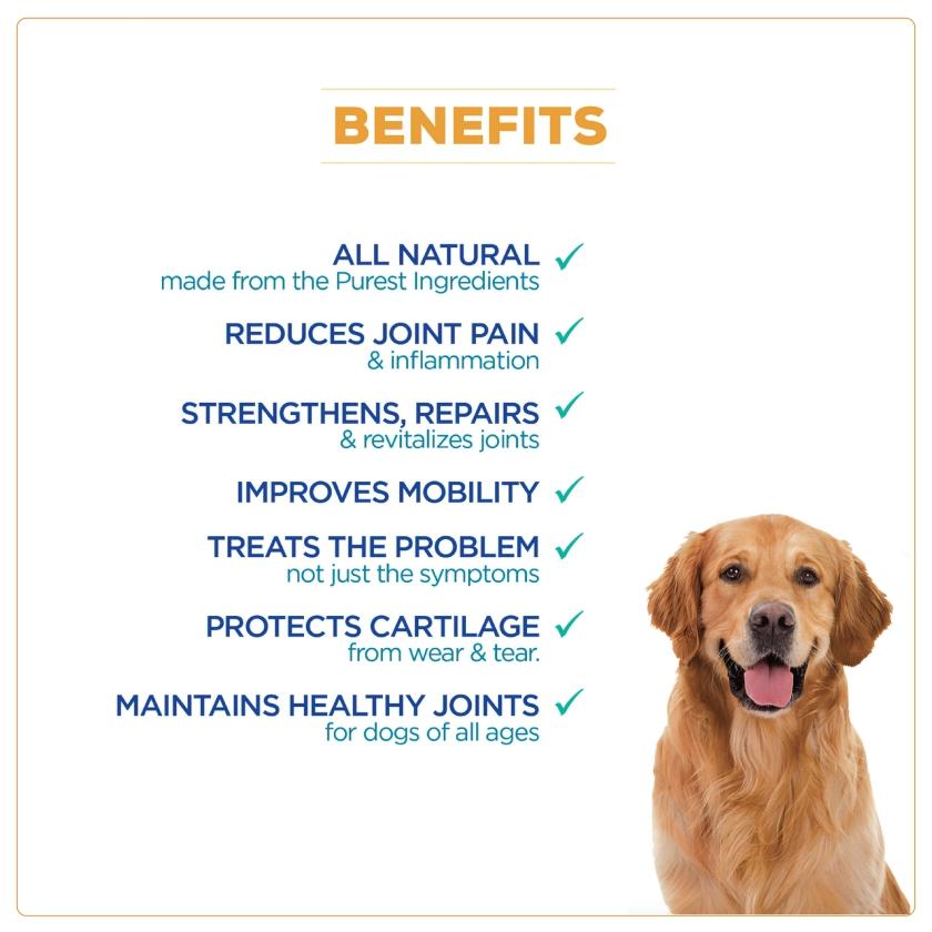 WagWorthy Naturals Advanced Hip + Joint Supplement