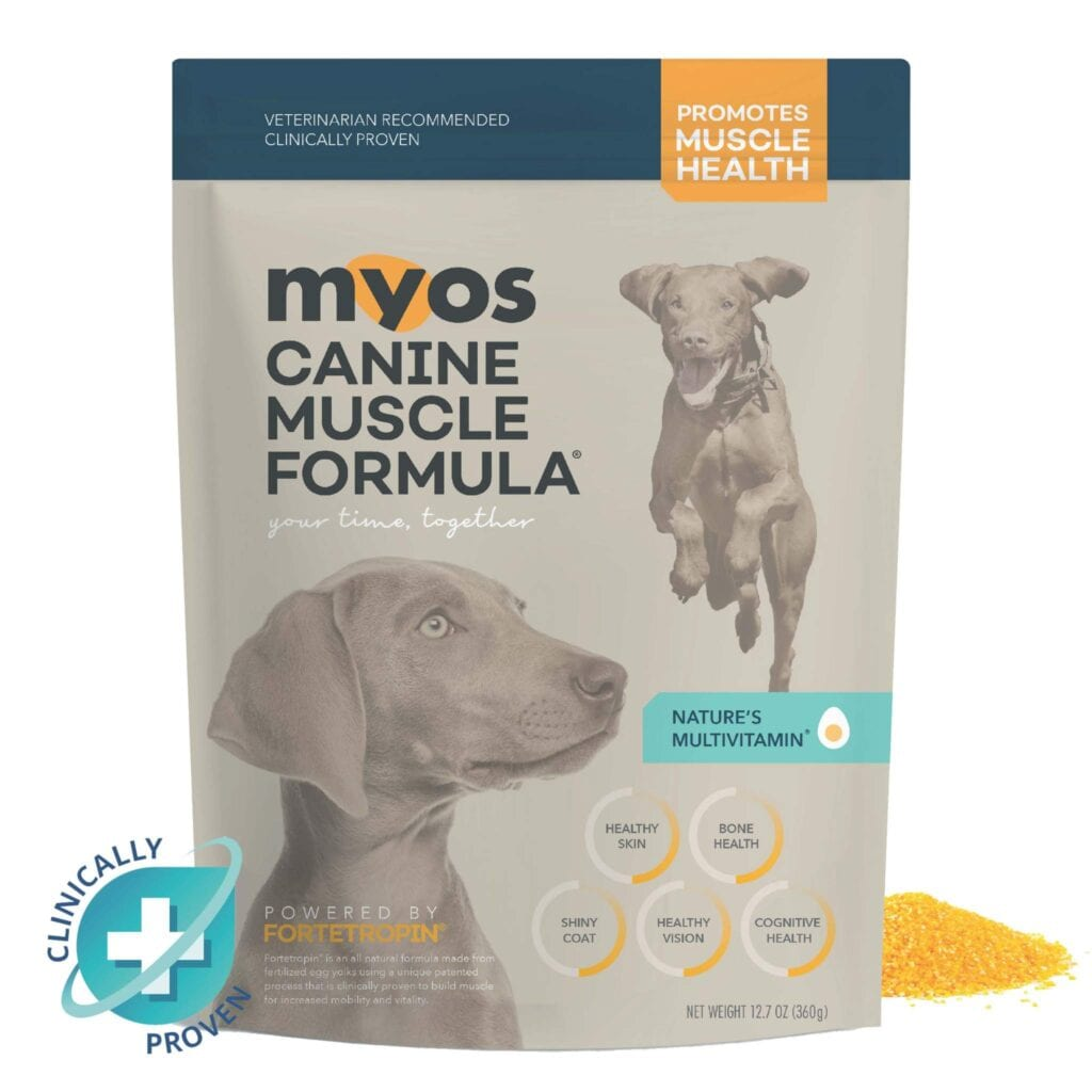 MYOS Muscle Supplement for Tripawds